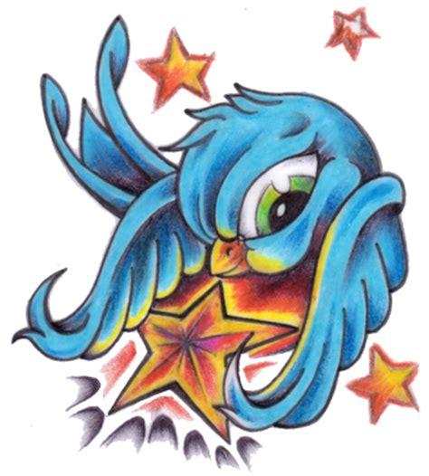 cartoon tattoo download cartoon bird tattoo free download clip art free clip