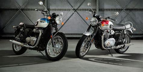 Motoscout Honda by 2017 Triumph Bonneville T100 And T100 Black Look