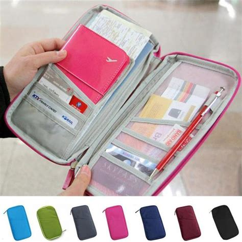 Pasport Bag Organizer Tas Pasport Pasport Holder Dompet Pasport 1 buy travel passport credit id card holder wallet organizer bag purse wallet fashion at