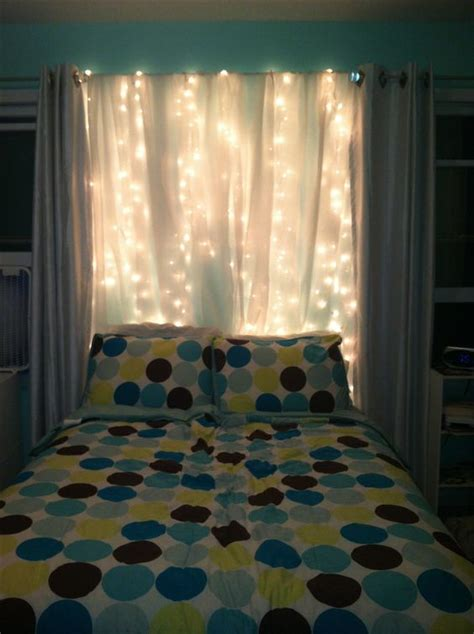 sheer curtains and christmas lights diy diy pinterest