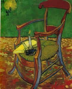 le fauteuil de gauguin 171 la chaise de gogh et