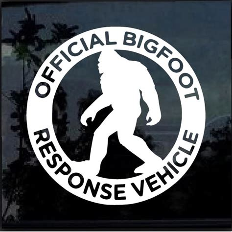 Bigfoot Stickers response vehicle decal bigfoot stickers custom sticker
