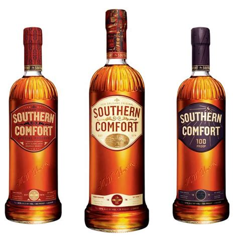 southern comfort lime and lemonade name before after southern comfort rebranding the dieline