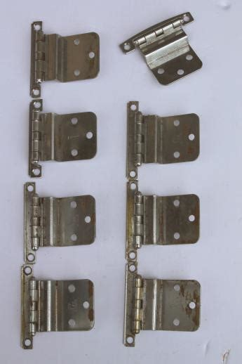 armoire door hardware vintage deco chrome hinges kitchen cabinet hardware