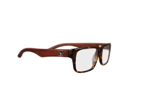 quot cascade quot wood eyeglasses in mosiac rosewood