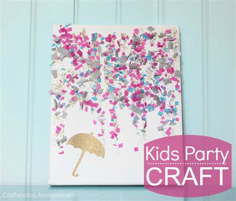 canvas craft ideas for craftaholics anonymous 174 craft confetti canvas