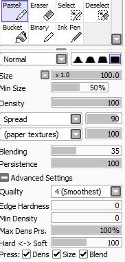 paint tool sai stabilizer paint tool sai pencil brushes by beroleagle