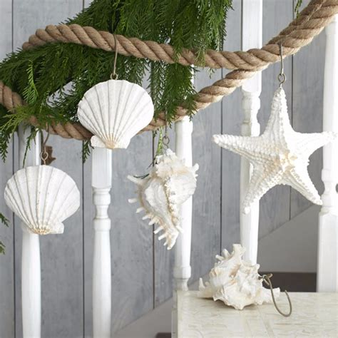 christmas d 233 cor ideas and tree ornaments with a coastal