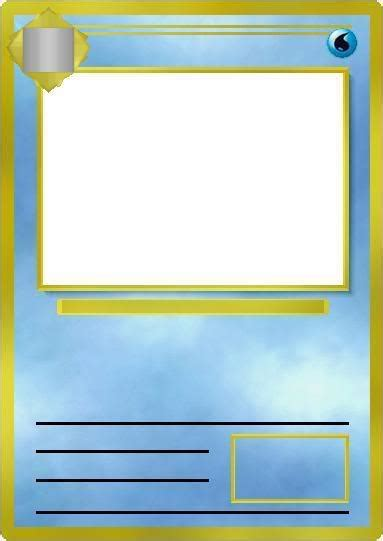 blank pokemon card template images pokemon images
