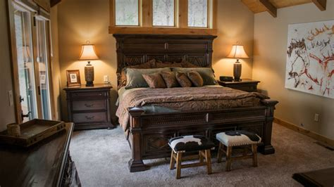 western bedrooms a western inspired home in black butte traditional