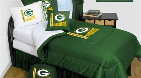 green bay packers bedroom green bay packers bedding nfl comforter and sheet set