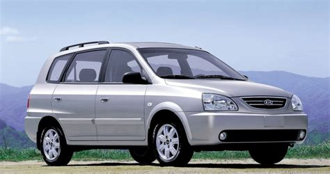 kia carens minivan mpv 2002 2004 technical data prices