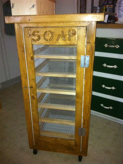 Curing Cabinet by New Soap Curing Rack Soap