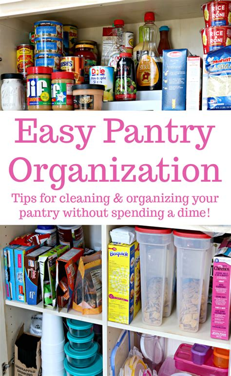 how to organize your pantry kitchen organizing pinterest easy kitchen pantry organization tips mom 4 real