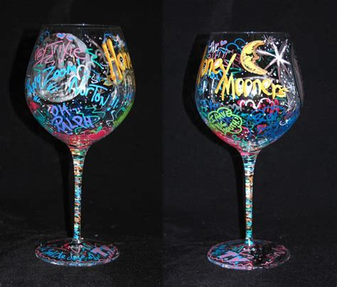 awesome wine glasses awesome wine glass painting make