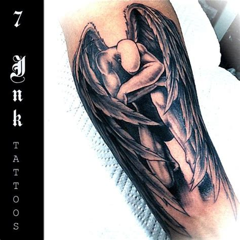 angel tattoo in arm best 25 angel tattoo arm ideas on pinterest angels