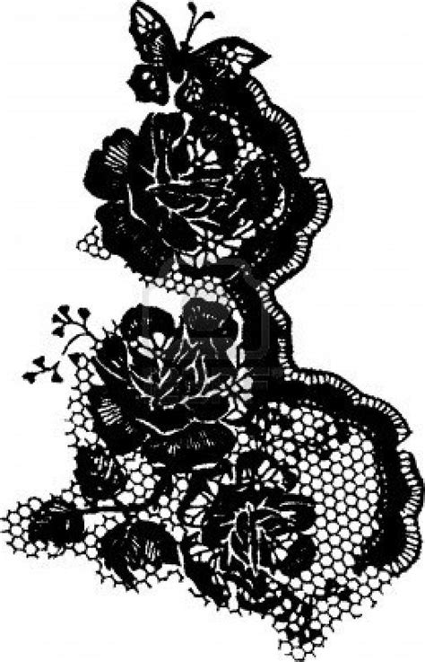 black rose lace tattoo lace in white ink tattoos black