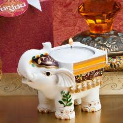 hindu wedding supplies luck elephant candle holders indian wedding favors reception