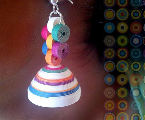 tutorial for quilling jhumkas best 25 quiling earings ideas on pinterest diy quilling