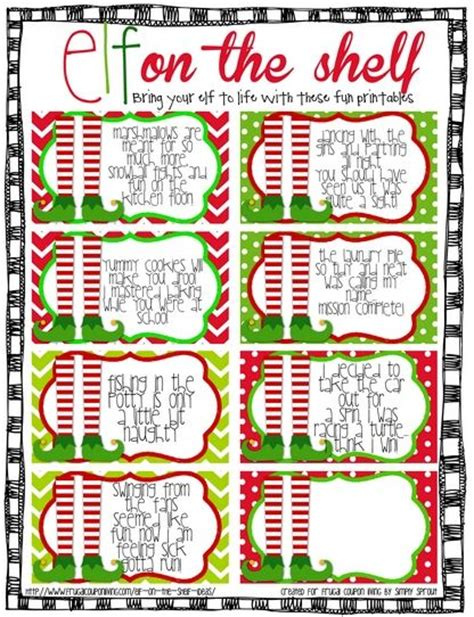 printable elf on the shelf sayings history printables elf movie quotes quotesgram