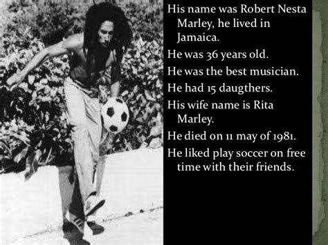 bob marley biography ppt bob marley ppt created by christopher and aaron
