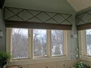 Mock Roman Shade - x traordinary window treatment stonewood interiors