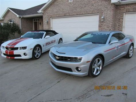 used camaro 2009 purchase used 2009 chevy ss camaro festival indy pace car