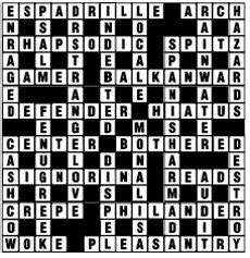 scrabble anag puzzle no 3430 the nation