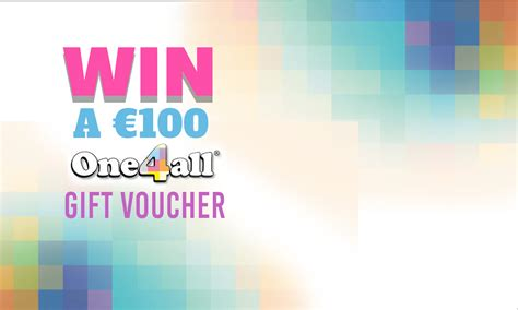 Win 100 Of Vouchers by Win A 100 One4all Gift Voucher Free Competitions Fpd Ie