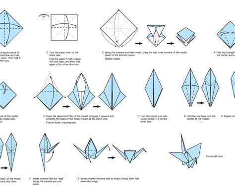 Origami Swan Steps - free coloring pages diy origami crane the agora how to