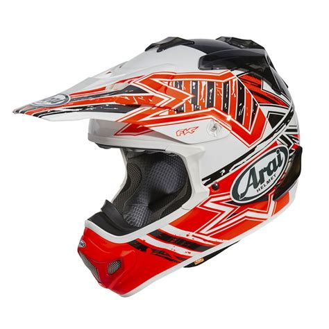 arai mx  star  road cross kask arai arai mx