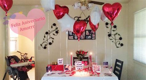 decoracion para aniversarios ideas de decoracion para aniversario cena romantica etc