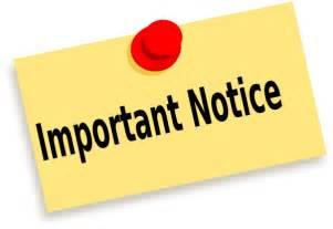 Notices Important Notice Clip Art At Clker Com Vector Clip Art