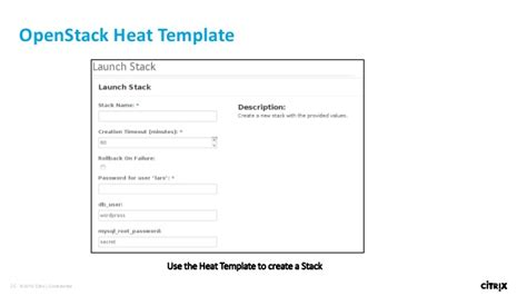 openstack heat template syn246 sdn with netscaler openstack and nuage networks