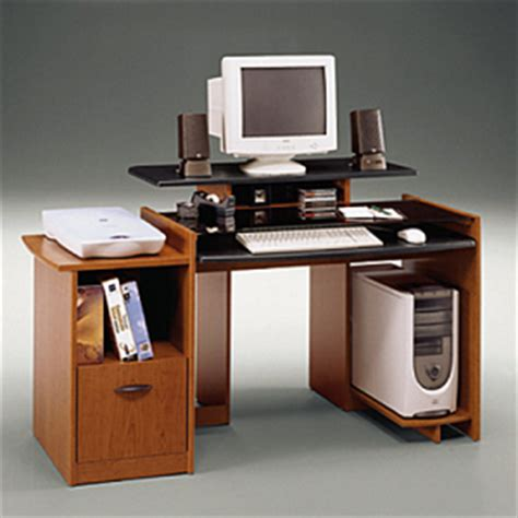 multi level computer desk bush visions collection multi level computer desk bshmm69500