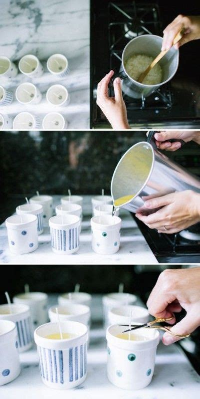 candele ad olio candele ad acqua come realizzare candele olio acqua con