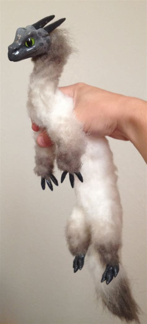 doll creature ferret poseable doll by chemical creature