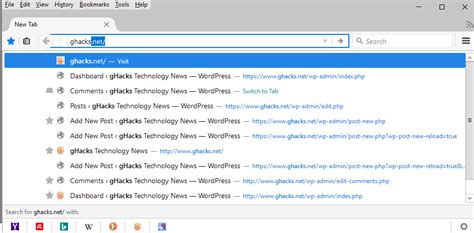Firefox Address Bar Search Engine Firefox One Searches From The Address Bar Ghacks