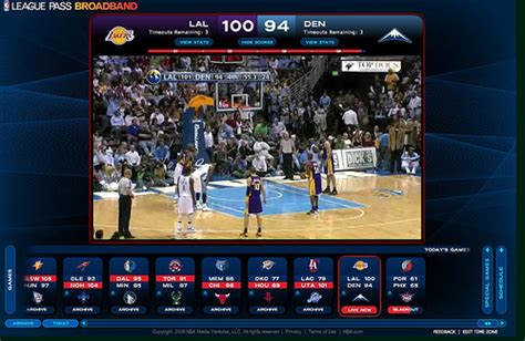 nba league pass mobile nba league pass international lancio ufficiale il 30