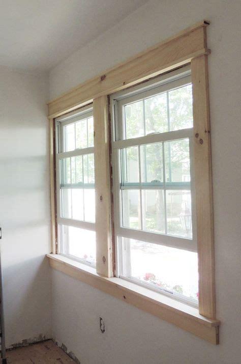 diy modern easy craftsman window trim craftsman window