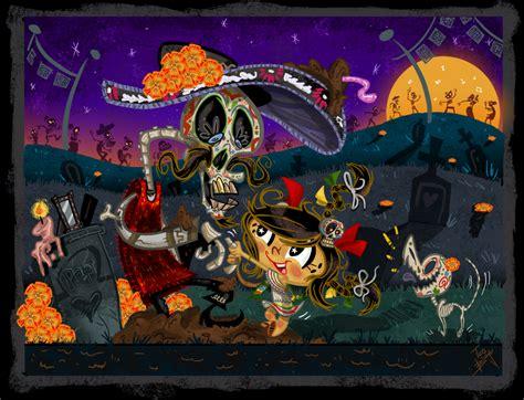 imagenes de halloween o dia de muertos halloween o d 237 a de muertos mentes inkietas blogzine