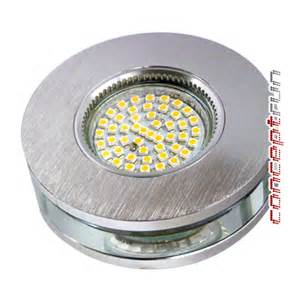 oule led gu10 230v led aluminium glas einbaustrahler einbauleuchte spot rund