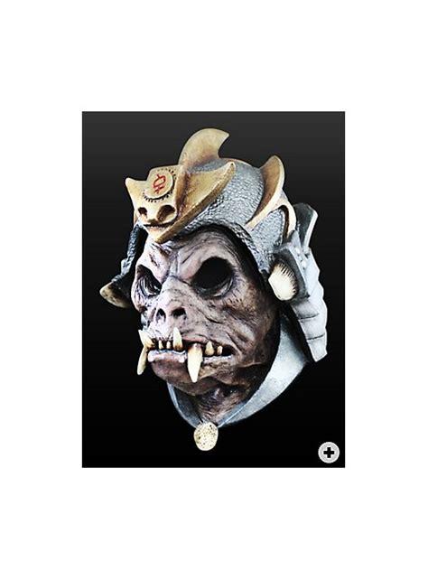 demon mask warrior made of latex