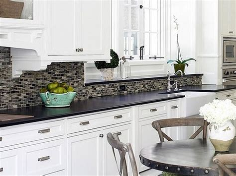 kitchen ideas with white cabinets and black countertops kitchen ideas white cabinets black countertop kitchen