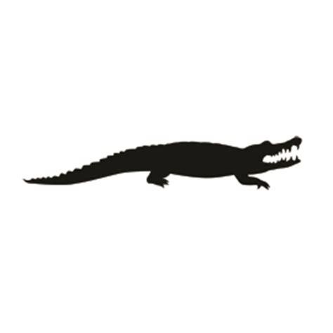 alligator silhouette stencil   stencil gallery
