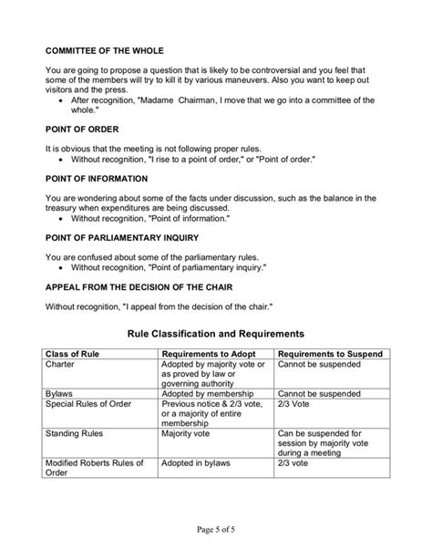 robert rules of order meeting agenda template 3 best and