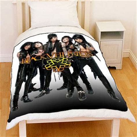 black veil brides comforter set collection from customgift