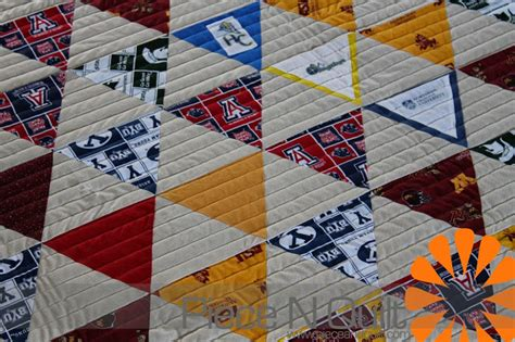 College Quilt by N Quilt College Quilt