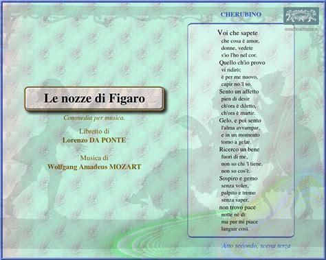 le nozze di figaro 1786 immagine sfondo schermo