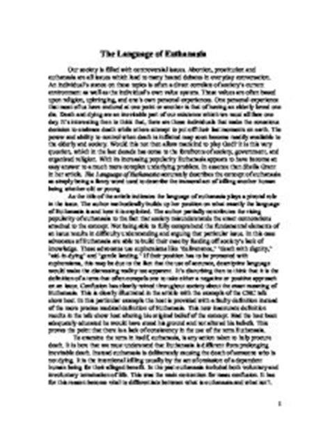 Legalizing Euthanasia Essay by Legalization Of Euthanasia Essay Prejudiceessays Web Fc2